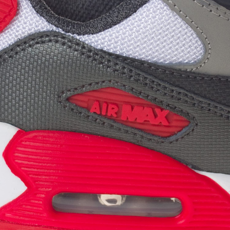 NIKE Air Max 90 (PS) 127 WHITEGREYRED