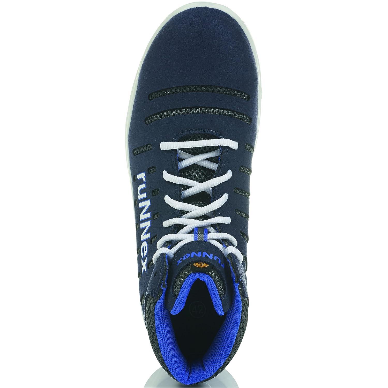 Runnex® S1P-Esd-Sicherheitsschnürstiefel Flexstar, Blau Weiß Grau, Gr. 48 48 48 a61caf