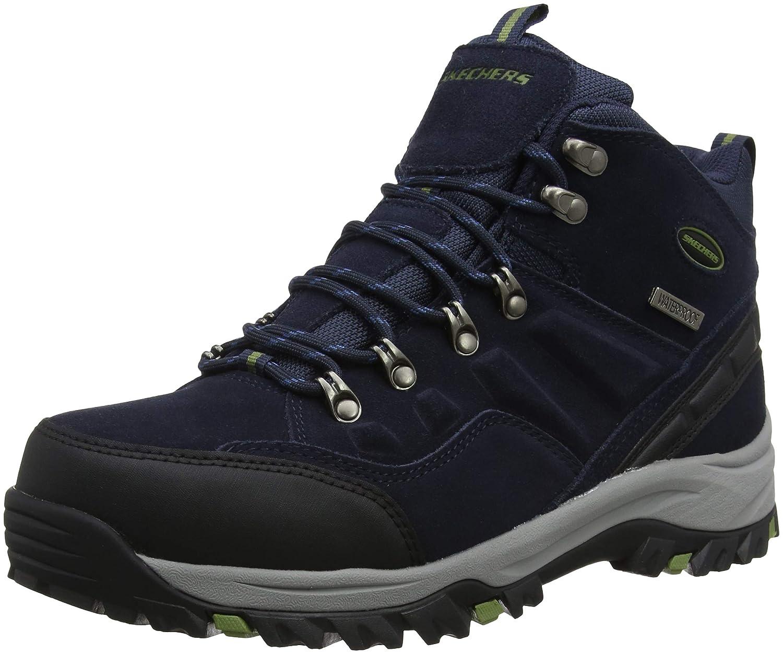 Bleu (Navy Nvy) Skechers Relment - Pelmo, Chaussures de Randonnée Hautes Homme 50.5 EU
