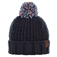 The North Face Cozy Chunky Beanie Urbn Navy/Faded Rose Mlti OS