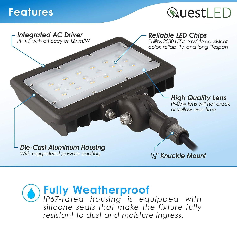 Day Light 5000K Flood & Security Lights LED Flood Light Outdoor