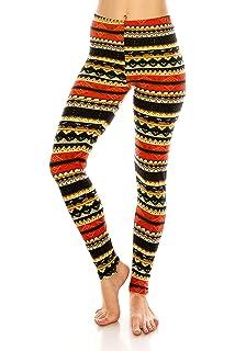 e83196de15dfa ALWAYS Leggings Women Printed Patterned - Premium Buttery Soft Stretch Pants