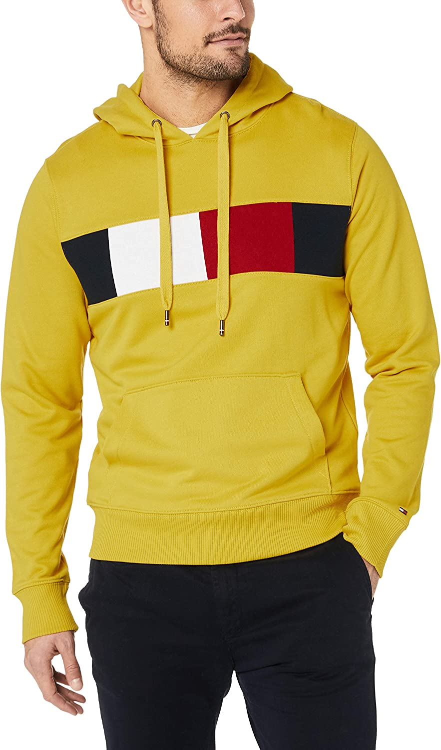 Tommy Hilfiger Flag Chest Insert Hoody Sweat-Shirt Homme