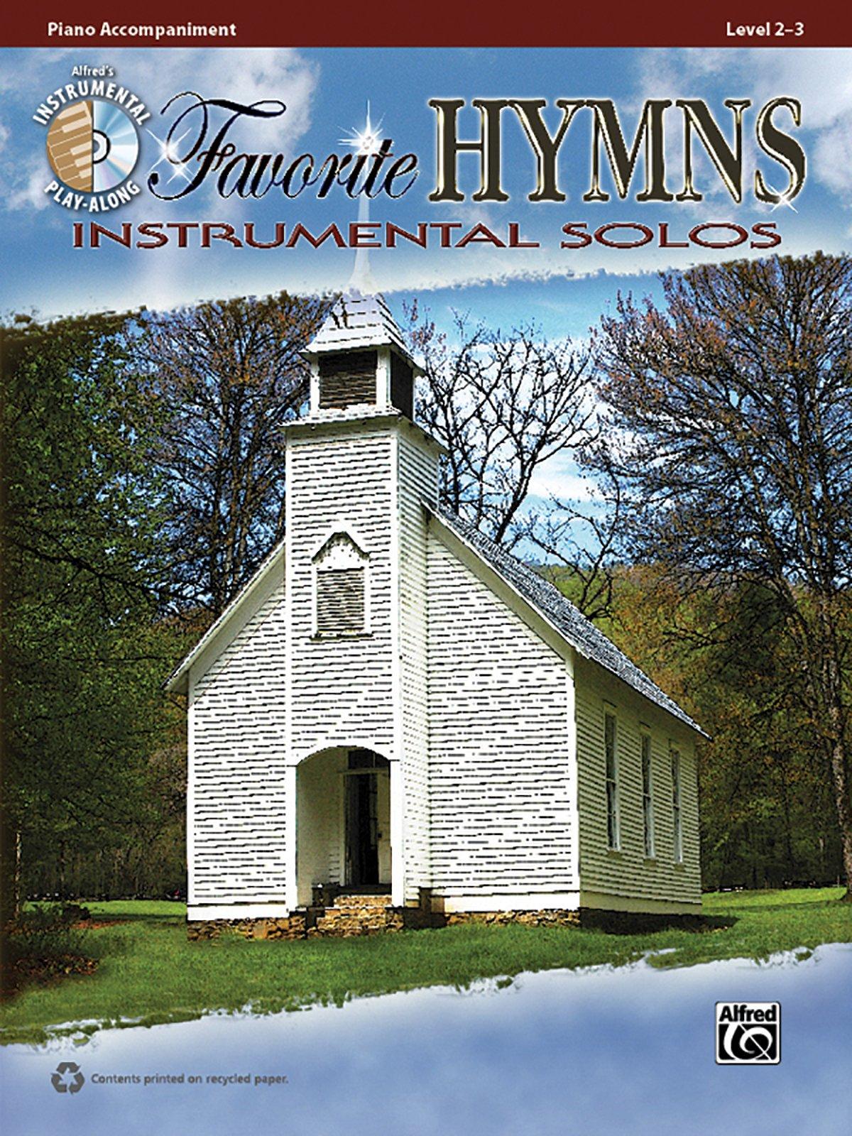 Favorite Hymns Instrumental Solos: Piano Acc., Book & CD (Instrumental Solo Series)