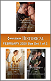 Harlequin Historical February 2020 - Box Set 1 of 2