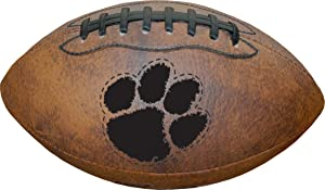 Gulf Coast Sales NCAA Clemson Tigers Vintage Throwback Football, 9-inches, Brown