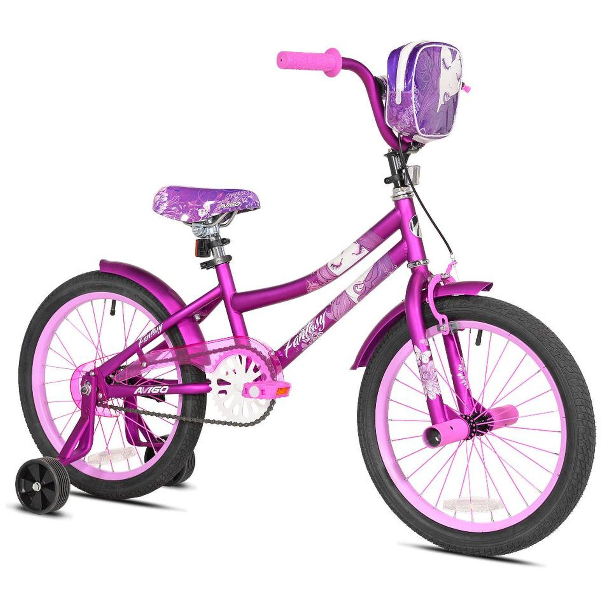 Girls 18 inch Avigo Fantasy Bike