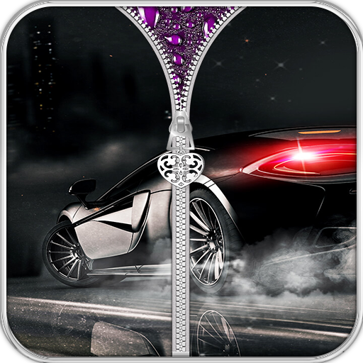 (Cars Sports Zipper Lock Screen Premium)