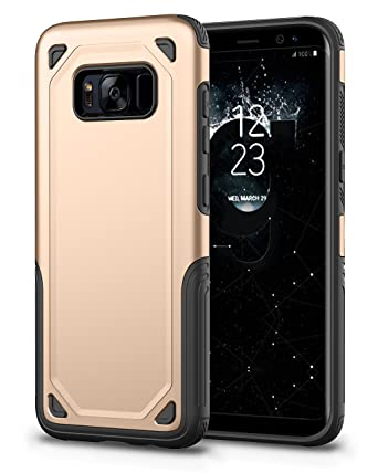 Amazon.com: Carcasa blindada para Samsung Galaxy S8 Plus, AI ...