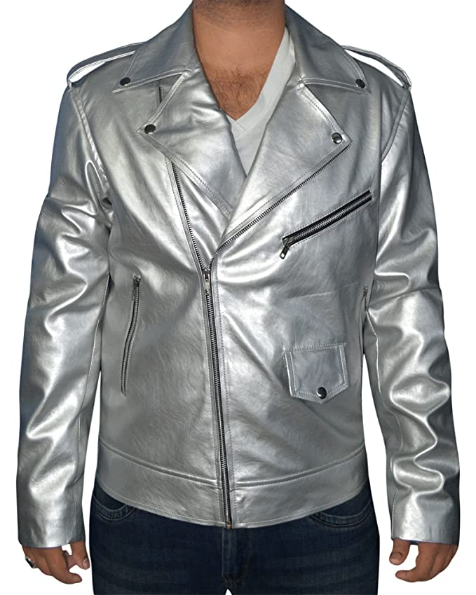 Quicksilver X-Men Apocalypse Leather Jacket at Amazon Mens Clothing store: