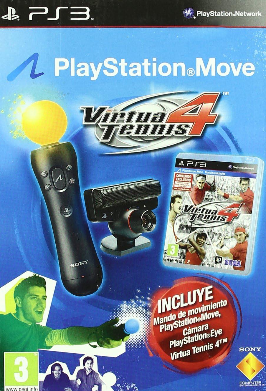Virtua Tennis 4 Move Con Cámara: Amazon.es: Videojuegos