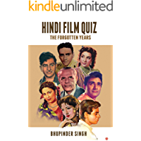 HINDI FILM QUIZ : THE FORGOTTEN YEARS