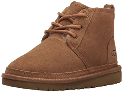 UGG Boys K Neumel Pull-on Boot, Chestnut, 13 M US Little Kid