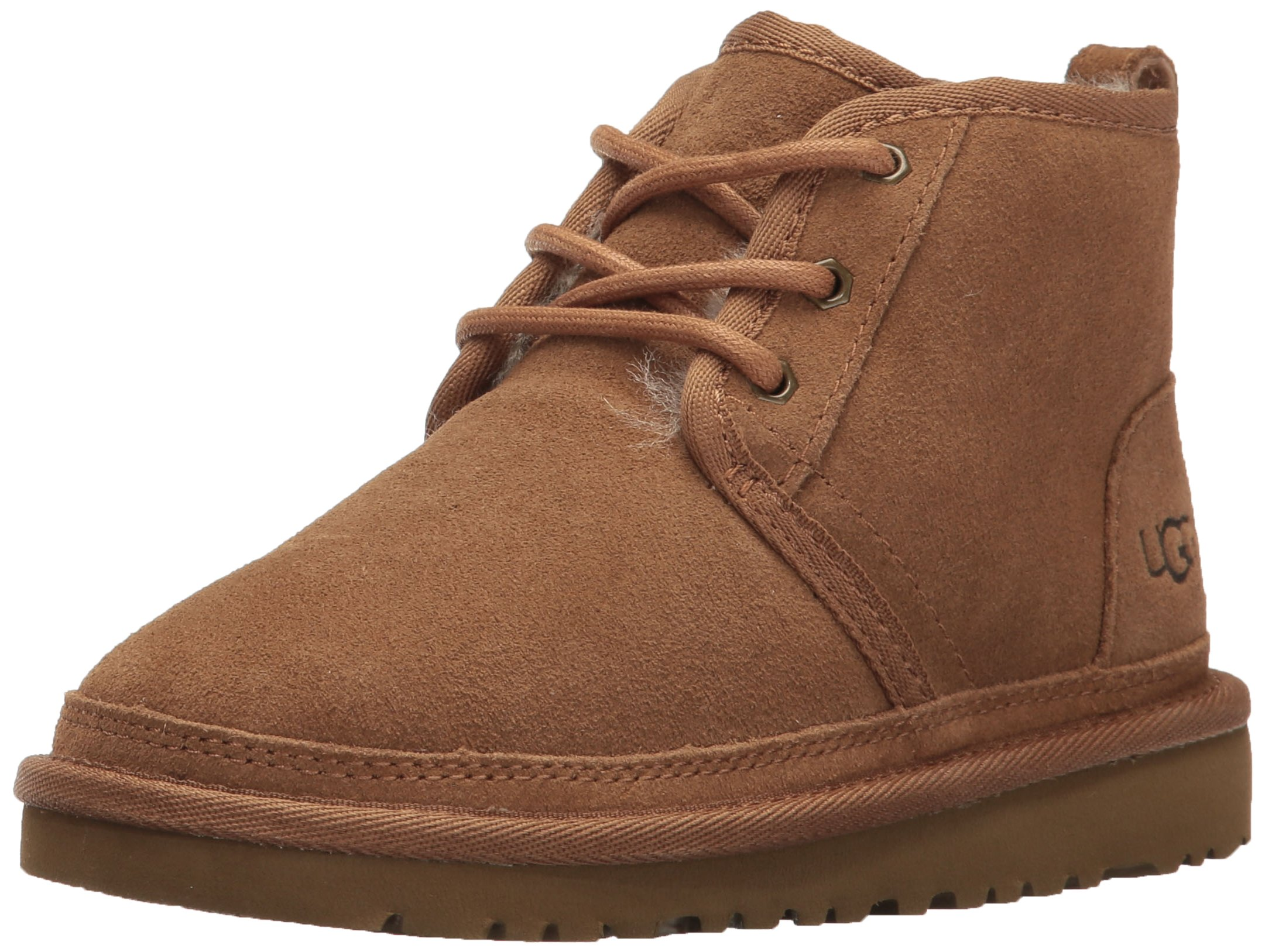 UGG Boys K Neumel Pull-on Boot, Chestnut, 3 M US Little Kid