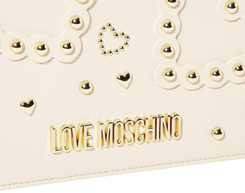 Love Moschino dam Jc4031pp1a axelväska Elfenben (Avorio)