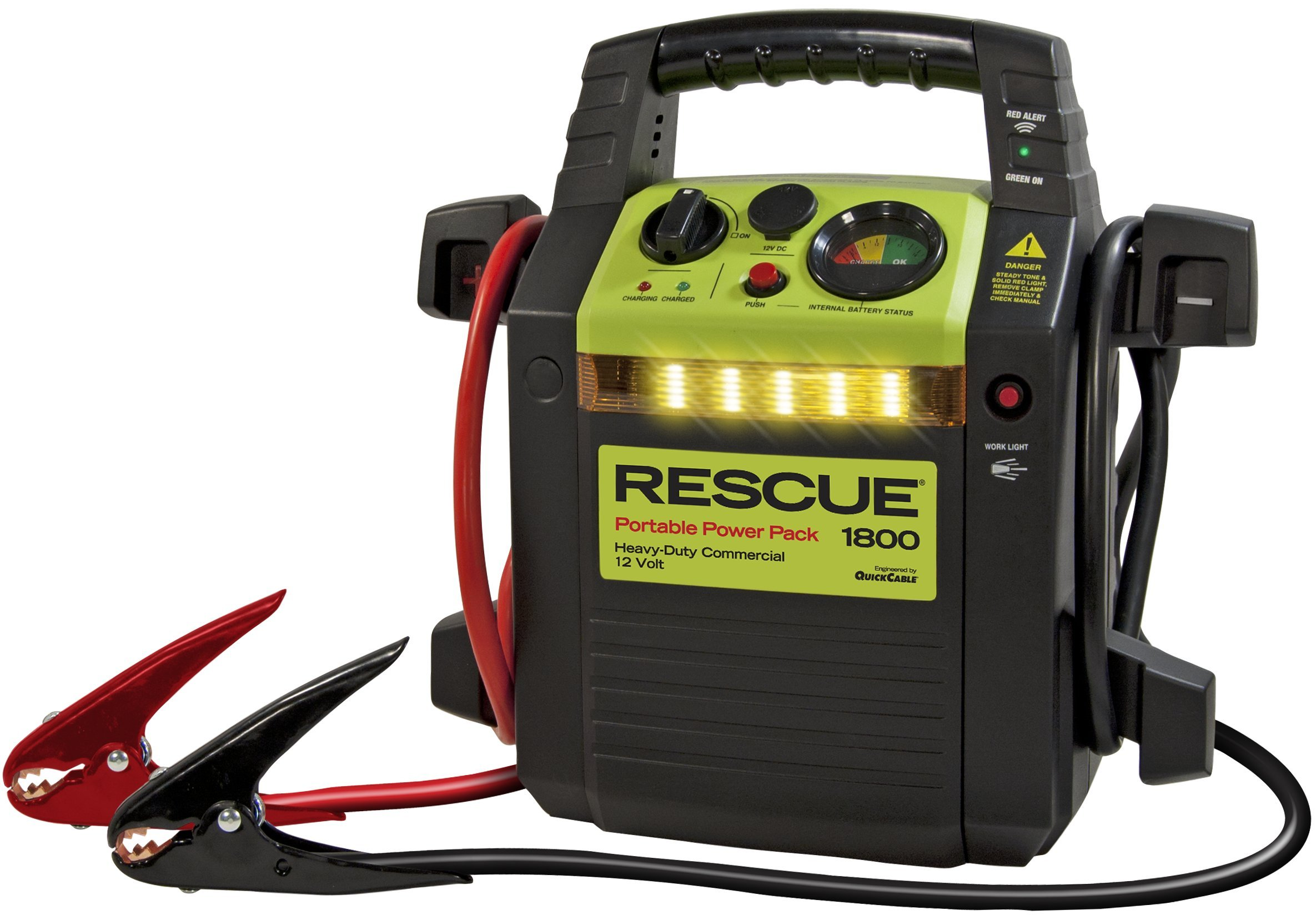 Quick Cable 604053 WSL RESCUE Jump Pack 1800 Model
