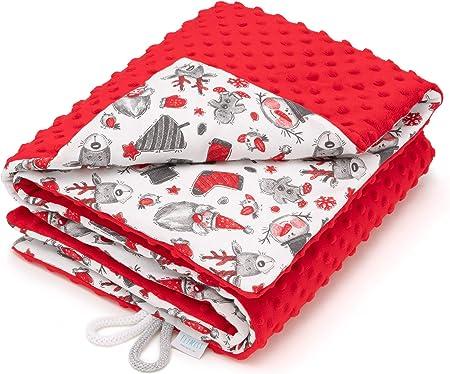 Maravillosamente suave y acogedora, es ideal para la cama o el cochecito, también sirve como alfombr