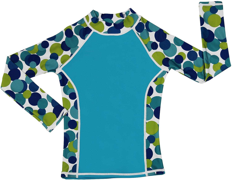 grUVywear UV Protective UPF 50+ Girl Long Sleeve Rash Guard Swim Shirt