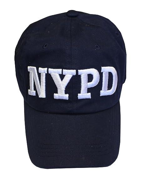 NYPD Cappello da Baseball New York Police Department Navy   bianco taglia  unica 0b83fac0334e