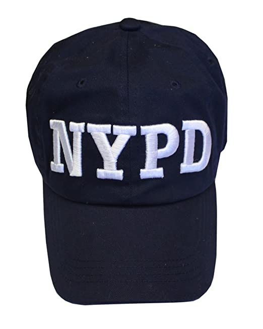 Amazon.com  NYC FACTORY NYPD Baseball Hat New York Police Department ... 08c685328f4