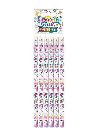 Mitgebsel Kindergeburtstag Einhornparty Bleistift Einhorn mit Radiergummi