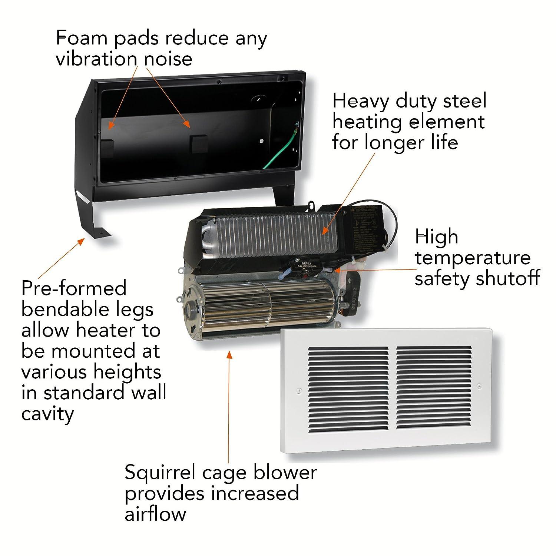 Cadet Rm162 Register Multi Watt 240v Heater Assembly The Wiring Diagram Hot One