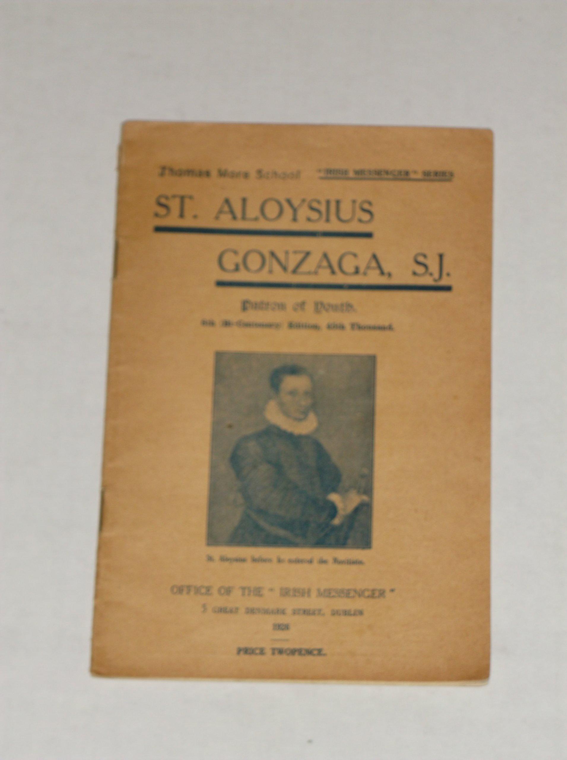 St Aloysius Gonzaga S J Patron Of Youth Irish Messenger