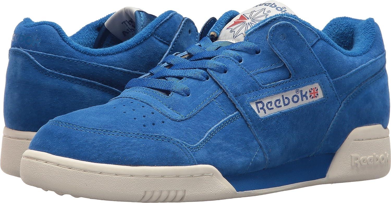 competitive price 7012d 3939f Amazon.com   Reebok Mens Workout Plus Vintage   Fashion Sneakers