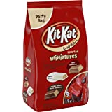 KIT KAT Assorted Chocolate Candy Bars (White, Milk, Dark), Snack Size, 36 Ounce