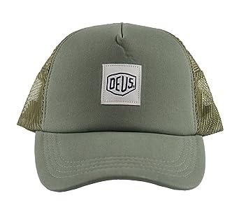 Deus ex machina - Cappellino da baseball - Uomo verde oliva Taglia unica   Amazon.it  Abbigliamento ac29c288fe29