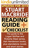 Stuart MacBride Reading Order and Checklist: The complete guide to the Logan McRae and Roberta Steel series, Ash Henderson books, plus standalone novels and short stories