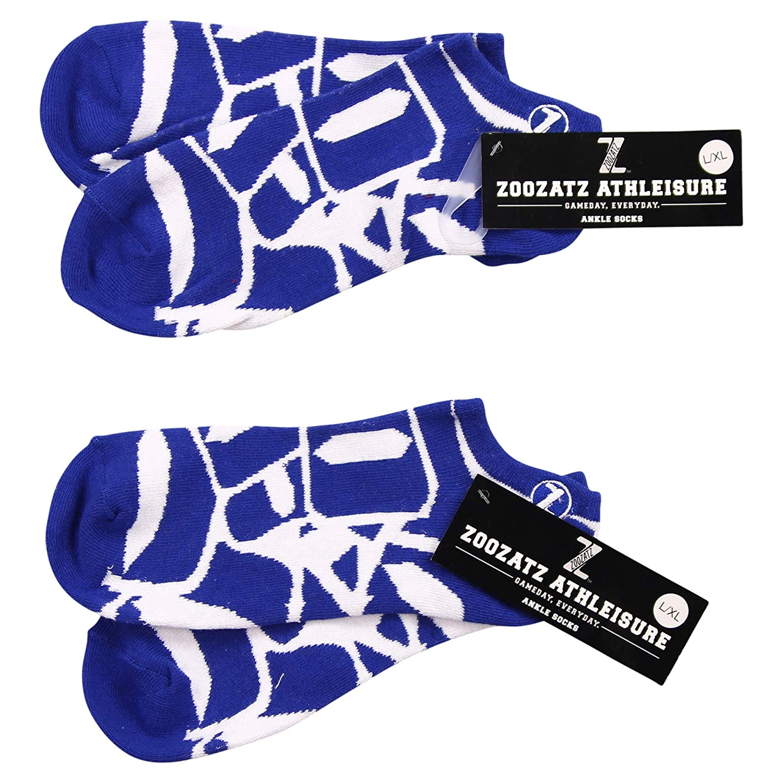 ZooZats NCAA Full Color PremiumTeam Logo Crew and Ankle Socks