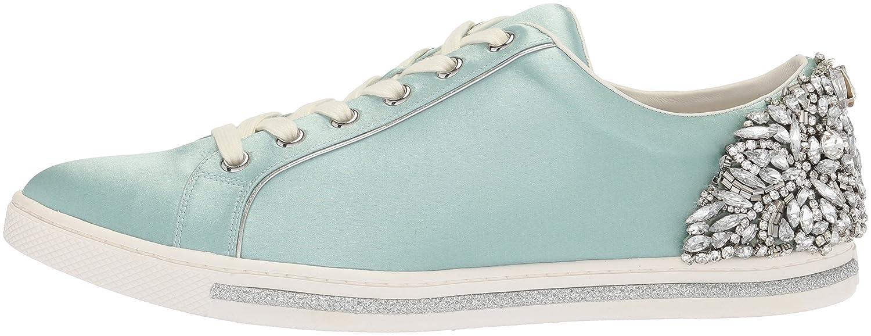 Badgley Mischka Women's Shirley Sneaker B0721RNXXS 8 B(M) US|Blue Radiance