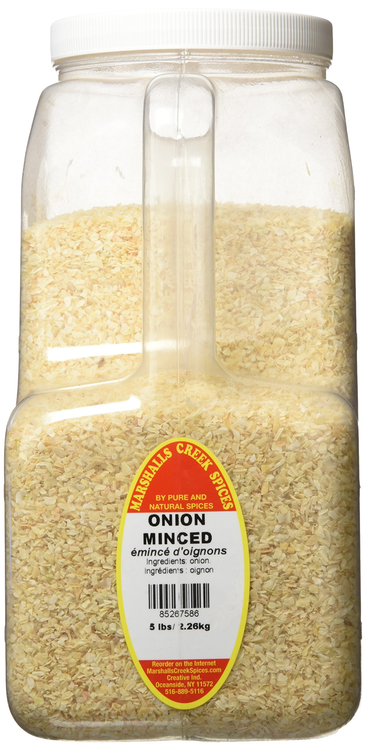 Marshalls Creek Spices Minced Onion, XX-Large, 5 Pound by Marshall's Creek Spices (Image #1)