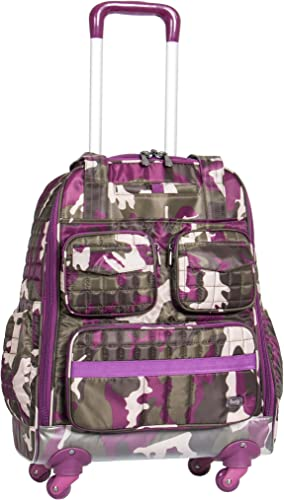 Lug Puddle Jumper Wheelie, Camo Berry, One Size