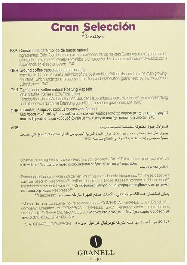Granell Gran Seleccin Premium Cpsulas Compatibles