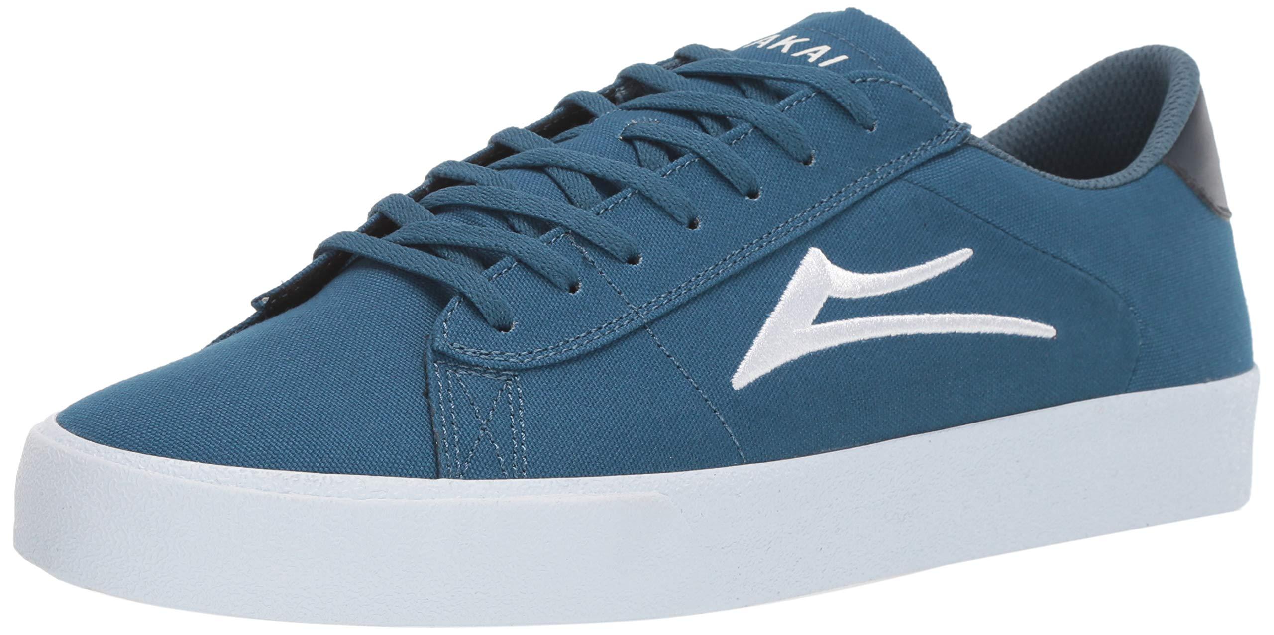 Lakai Limited Footwear Mens Newport Skate Shoe, Slate Canvas, 10 M US by Lakai Limited Footwear Mens