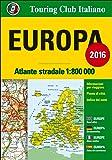 Atlante stradale d'Europa 1:800.000. Ediz. multilingue