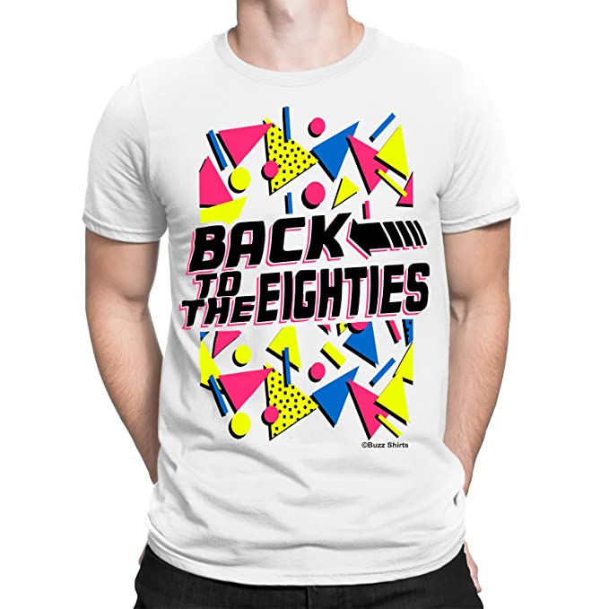 Back to the Eighties Men's T-shirt, S to 3XL