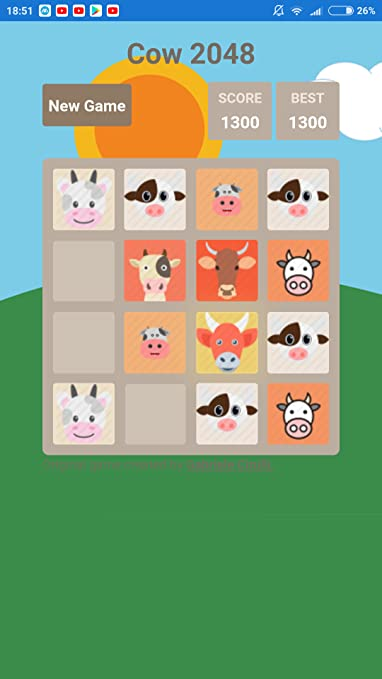 Amazon com: Cow 2048: Appstore for Android