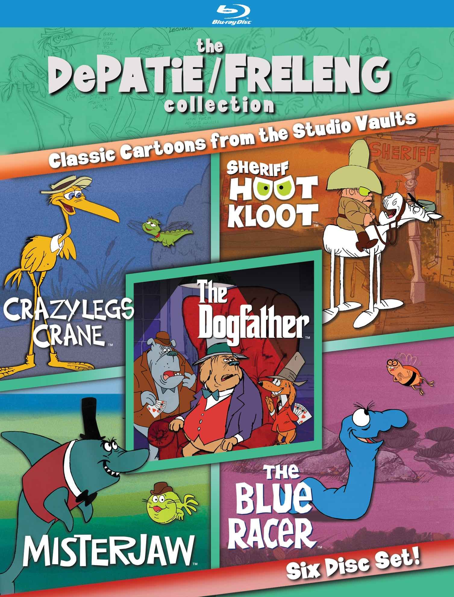 Blu-ray : The Depatie/ Freleng Collection: Volume 2 (6PC)