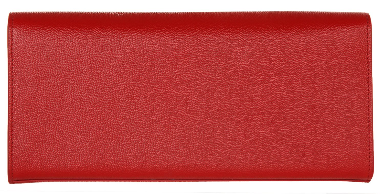 Saint Laurent - Cartera de mano para mujer Rojo rojo: Amazon.es: Equipaje