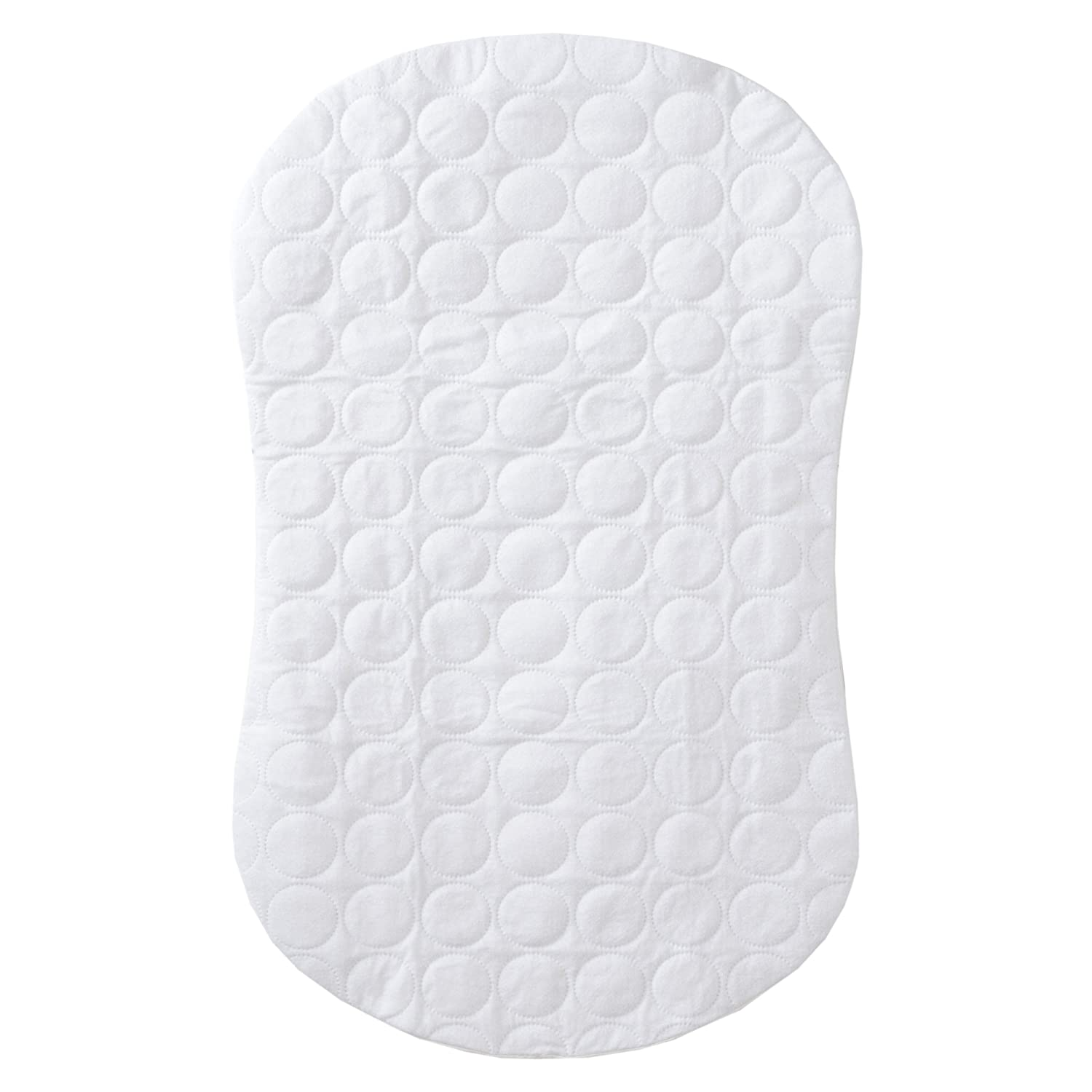 Halo Bassinest Swivel Sleeper Mattress Pad Waterproof Polyester, White 10725