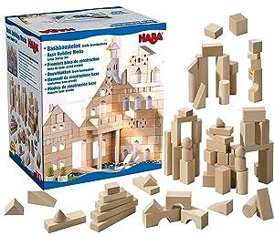 HABA Basic Building Blocks 60 Piece Large Starter Set (Made in Germany)