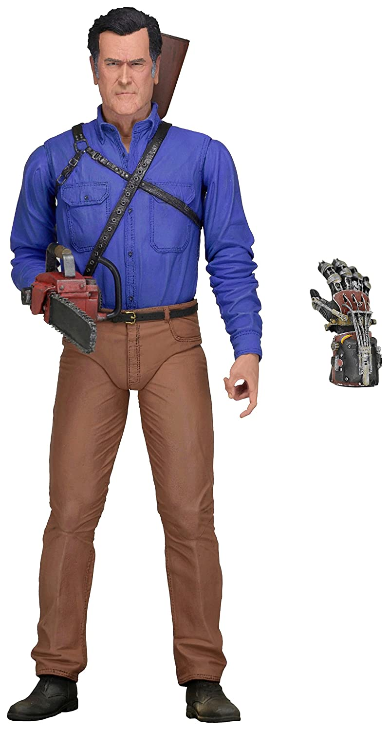 NECA Ash vs Evil Dead Scale Series 1 Ash Hero Action Figure, 7""