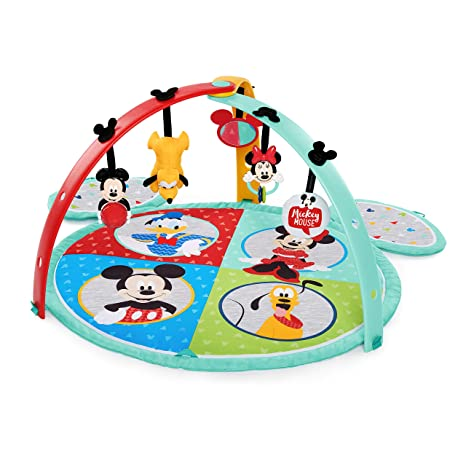 Disney Baby Mickey Mouse Easy Store Playmat, multicolor: Amazon.es ...