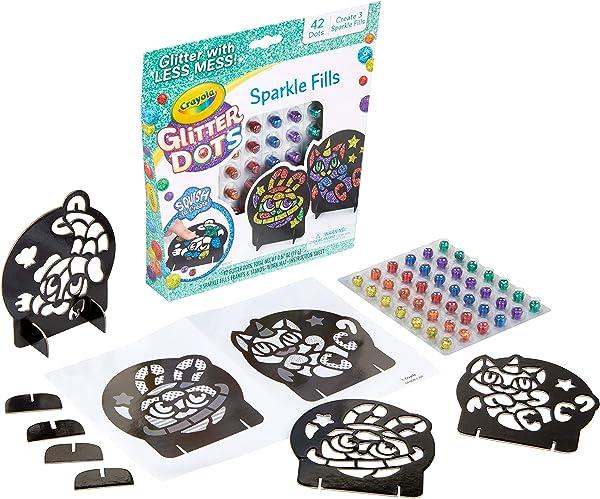 Crayola Glitter Dots Sparkle Fills crafts for kids