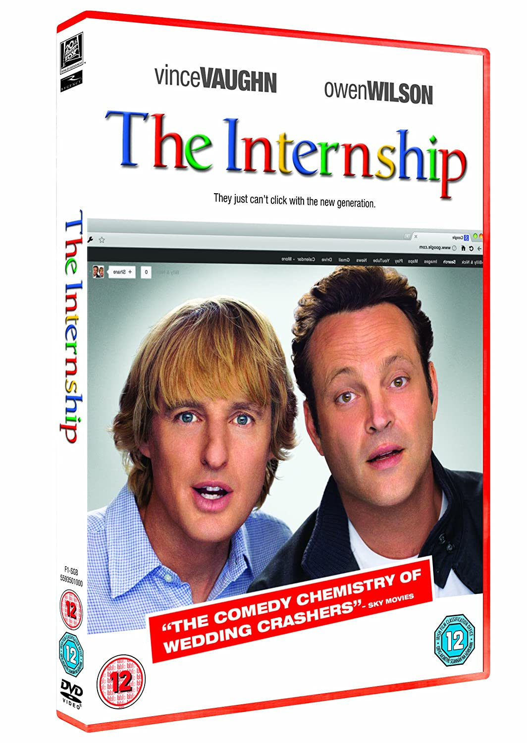 2019 year looks- The internship dvd