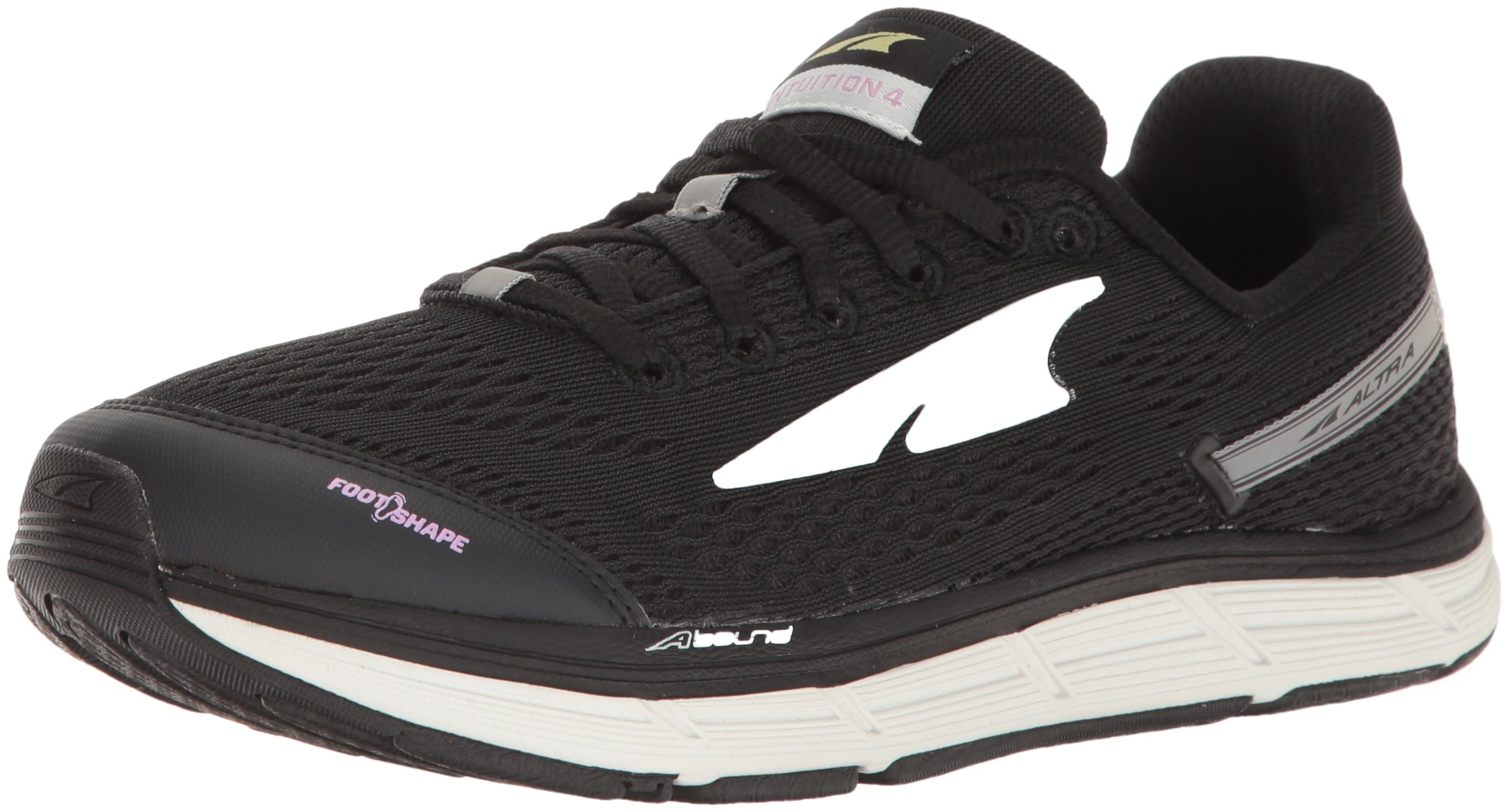 Altra Women's Intuition 4 Running Shoe, Black, 7 M US