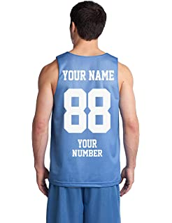 ac83252ce1c Custom Basketball Tank Tops - Make Your OWN Jersey - Personalized Team  Uniforms